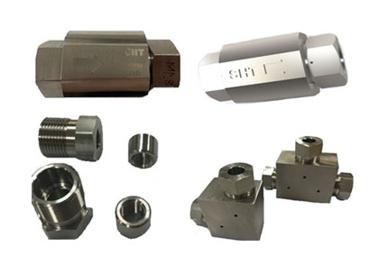 Check valve & Fitting for hydrogen